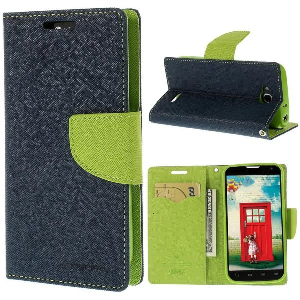 CHL Imported Mercury Fancy Wallet Dairy Flip Case Cover for Micromax Canvas Nitro A310 1