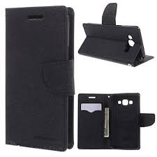 MERCURY FLIP COVER FOR HTC 728 BLACK 3
