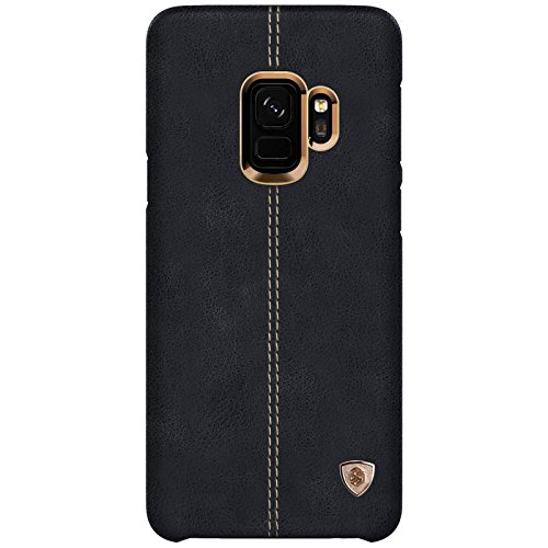 NILLKIN Englon Series Leather Back Cover Case for Samsung Galaxy (Samsung Galaxy Note 9, Black) 6