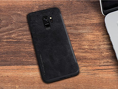 Nillkin Qin Series Royal Leather Flip Case Cover for Samsung Galaxy S9 (BLACK) 8