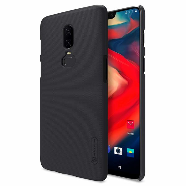 Nillkin Super Frosted Hard Back PC Case for OnePlus 6 (Black) 1