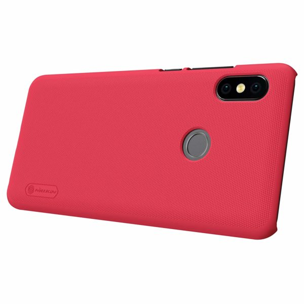 Nillkin Super Frosted Shield Hard Back Cover Case for Redmi Note 5 Pro (Red) 5