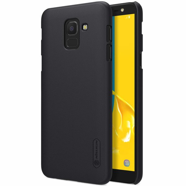 Nillkin Super Frosted Shield Hard Pc Back Case Cover for Samsung Galaxy J6 2018 (Black) 1