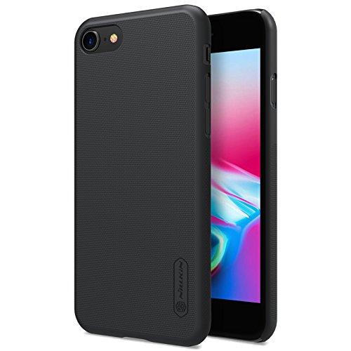 Nillkin Super Frosted Shield Matte Hard Back Cover Case (Without Logo Hole) + Free Nillkin Screen Protector for 1