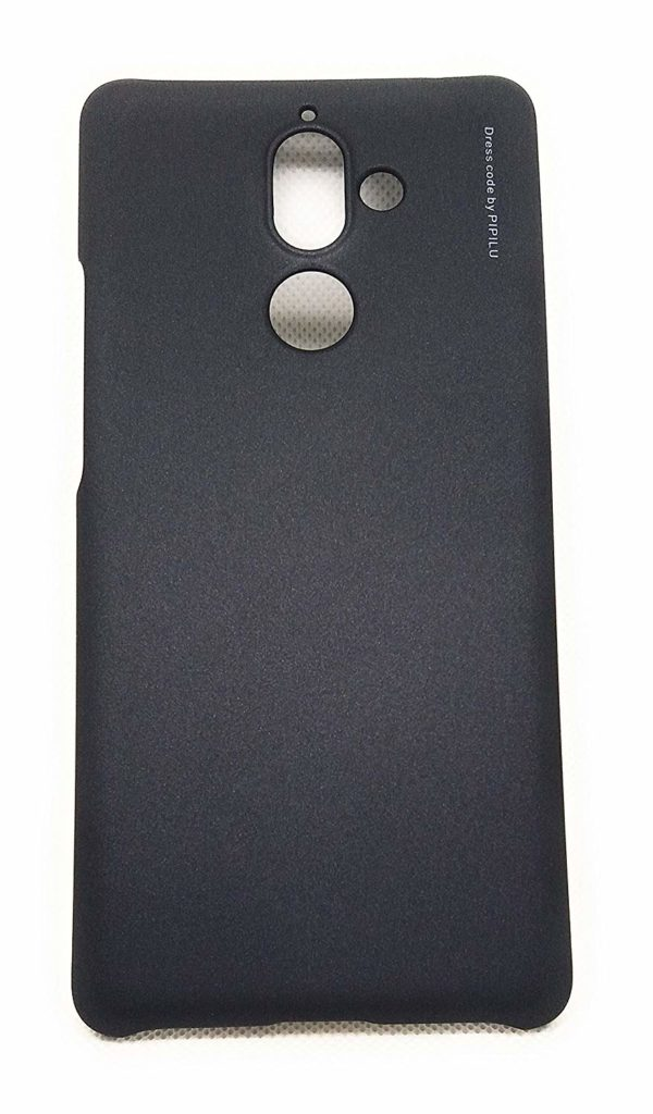 Royal Star Metallic Paint Series Matte Hard Plastic 0.4mm Ultra Thin Back Cover Case (Nokia 7 Plus, Black) 6