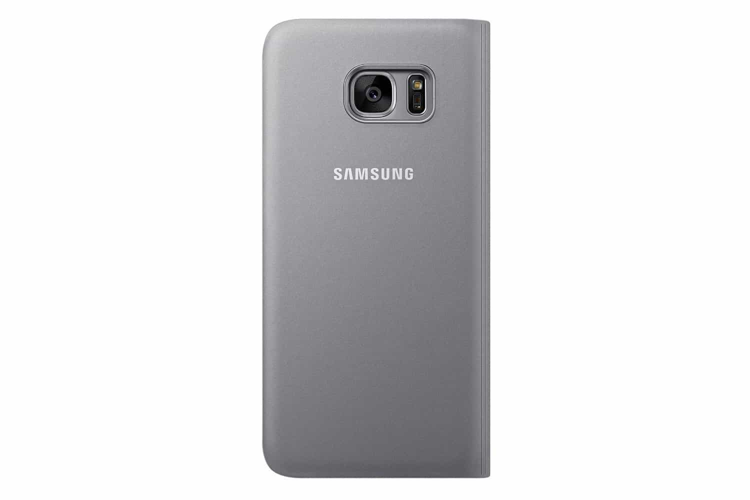 Samsung S7 Edge S-View Cover - Silver 3