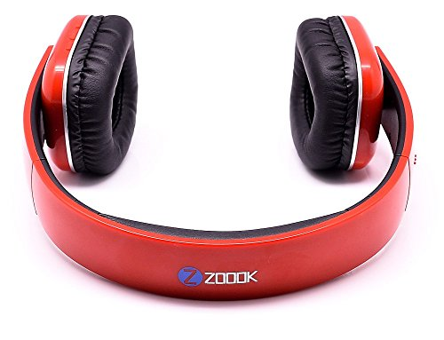 Zoook Bluetooth Headphone ZB-BHP18 Red 3